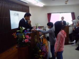 20130331 教会学校修了式